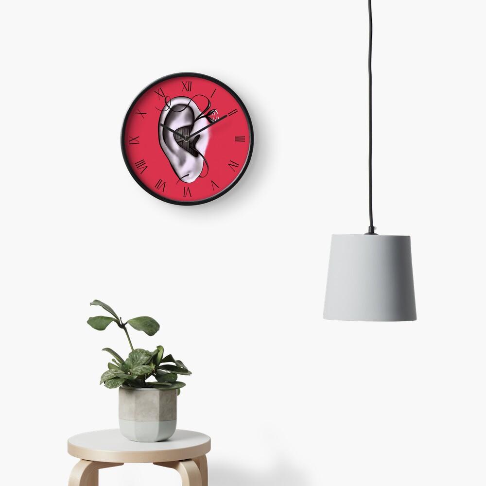 Ear Monster Weird Art Clock