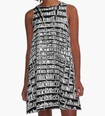 eternal bookcase A-Line Dress