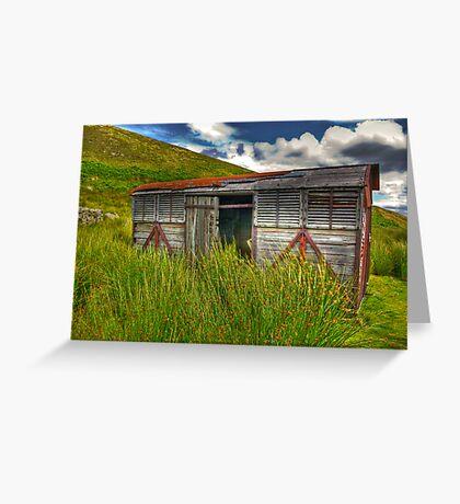 Abandoned Wagon #3 Greeting Card