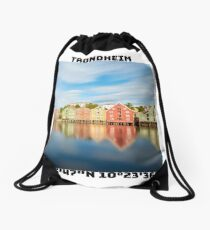 Trondheim Co-Ordinates Drawstring Bag