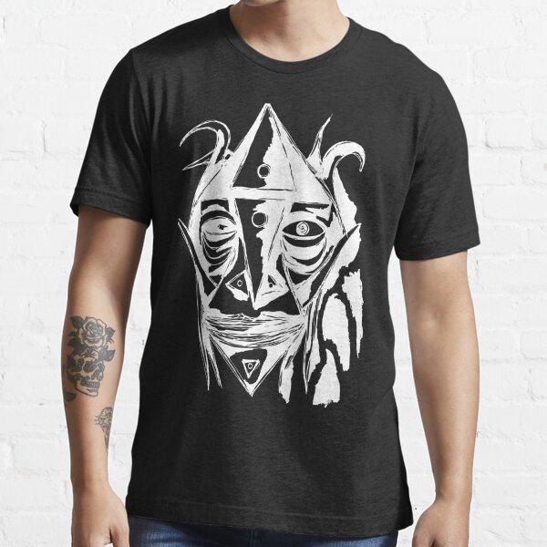 Zauberer Ziege Zeichnung Weiss Essential T-Shirt
