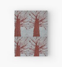 Copper Tree original painting Hardcover Journal