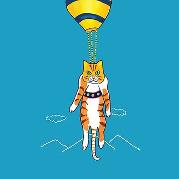 Cat Ballooning by ZenGalacticore