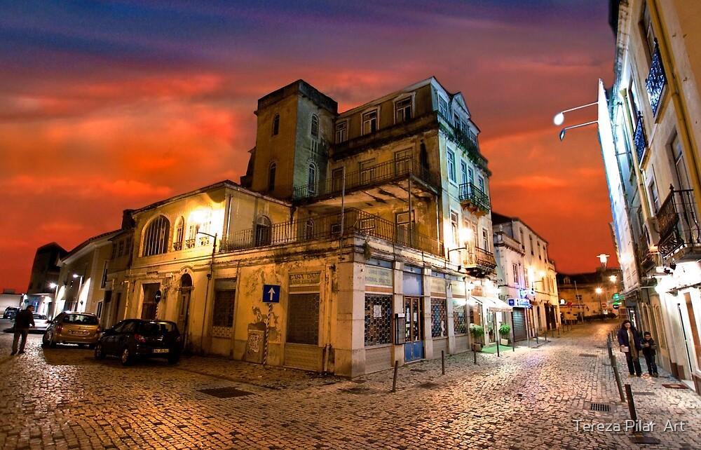 quiet night. Paço D'Arcos. by terezadelpilar ~ art & architecture