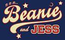 B B B... Beanie and Jess by deejayone