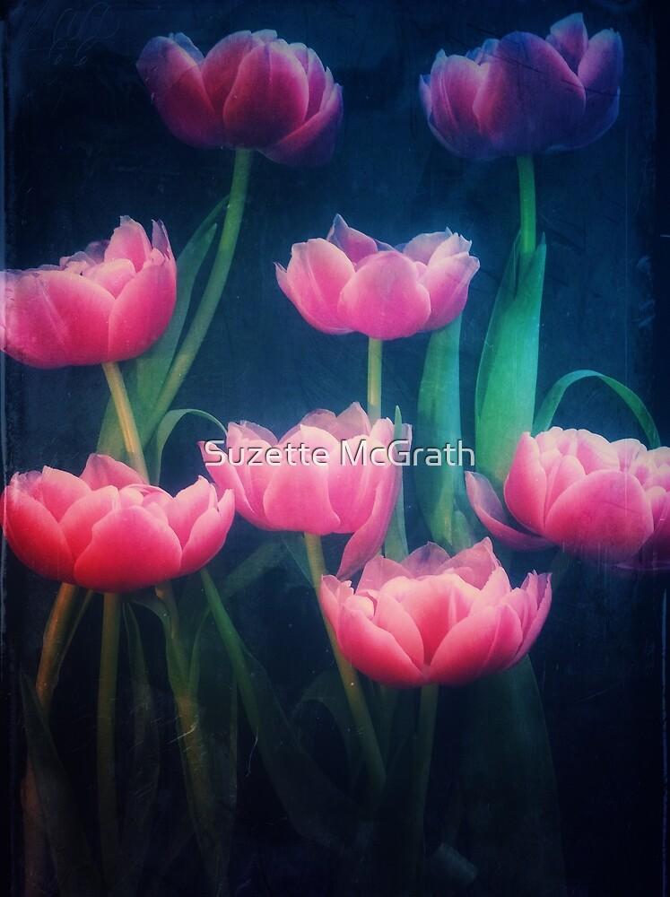 Pink Tulips by Suzette McGrath