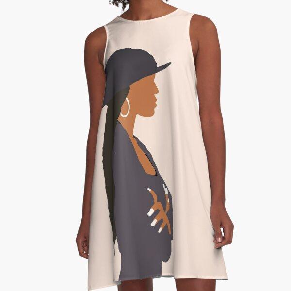 Janet Jackson - Poetic Justice  A-Line Dress