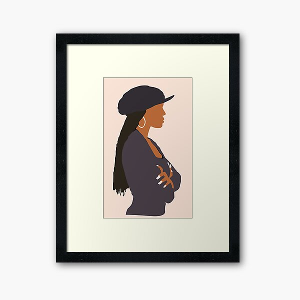 Janet Jackson - Poetic Justice  Framed Art Print