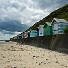 Beach huts by laurav