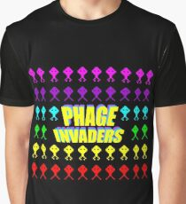 Phage invaders Graphic T-Shirt