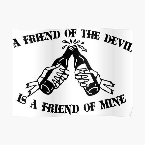 Friend of the Devil Poster