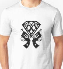 FUCKIN LIVING DIAMOND AND GUNS T-Shirt