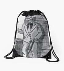 HEADS OR TAILS Drawstring Bag