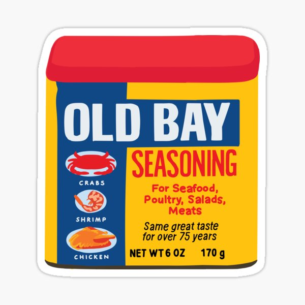 Old Bay Sticker