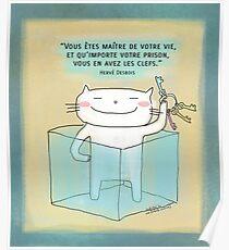 Vous avez les clefs... / Ooh la la ! (French doodle) Poster