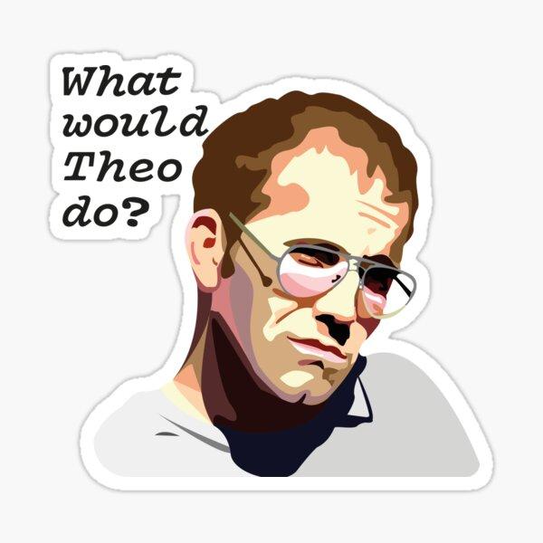 Theo Katzman Sticker