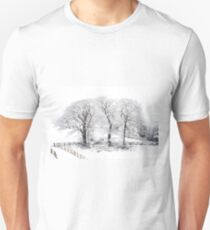 Three Snowy Trees T-Shirt