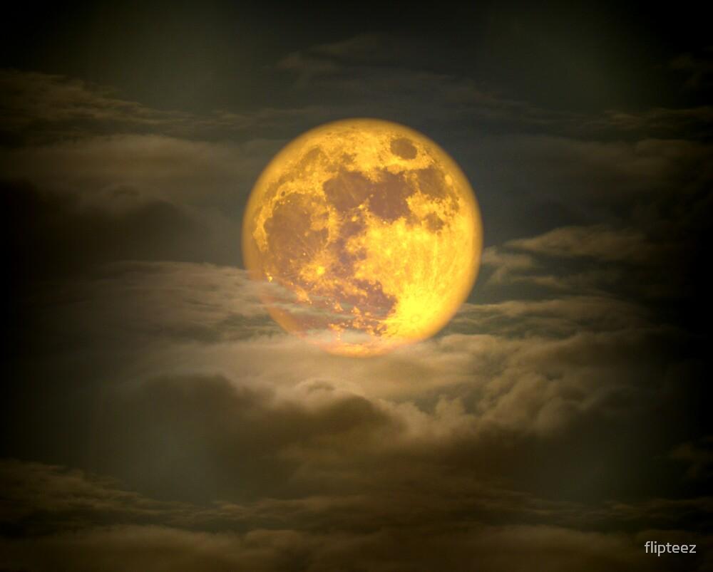 Moody Moon by flipteez