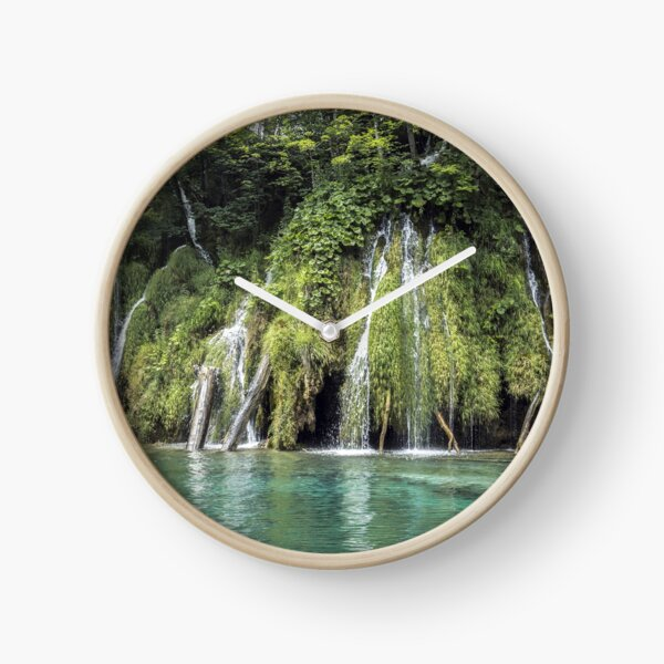 Forest with a Lake Clock