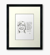 Joplin. Framed Print
