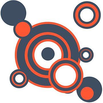 Electro circles blue n orange by DaliusD