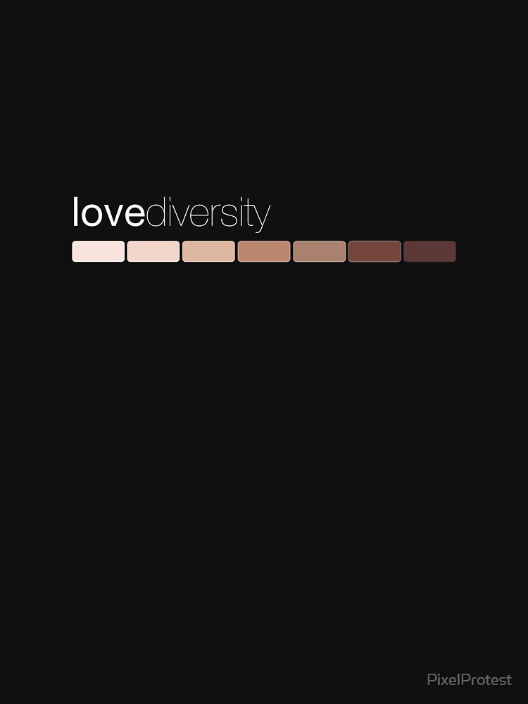 love diversity by PixelProtest