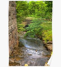 Stream Crossing -  Dentdale Poster