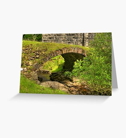 Stream Crossing #2  - Dentdale. Greeting Card