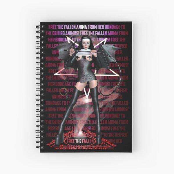 Free The Fallen Anima Spiral Notebook