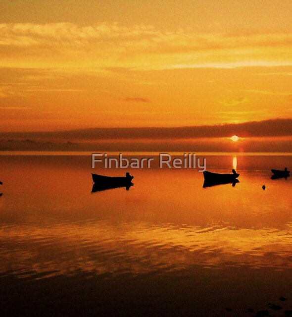 Red sky in the morning.  by Finbarr Reilly
