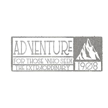 Adventure 1908 by FringeInk