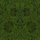 Dark Tapestry - Acid Green by Etakeh