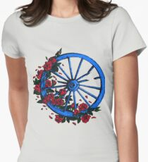 Grateful Dead Wheel Tailliertes T-Shirt