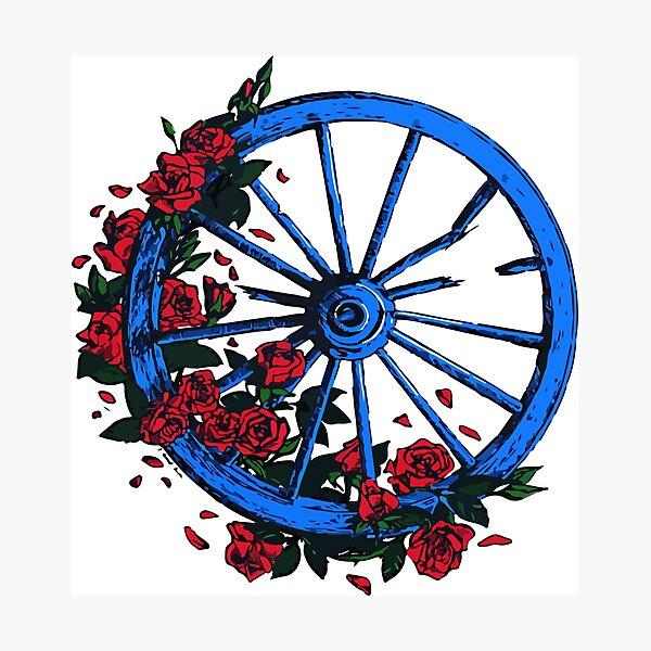Grateful Dead Wheel Photographic Print