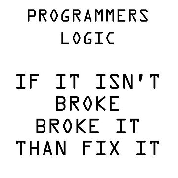 Programmers logic by Ankee