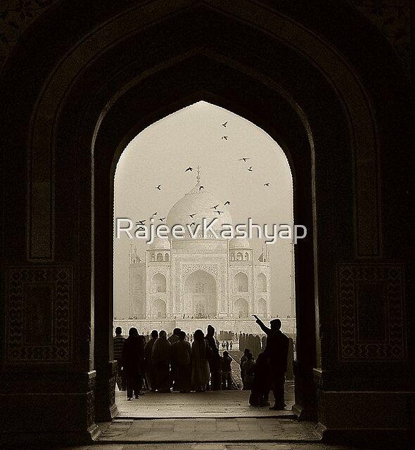 Taj Mahal  by RajeevKashyap