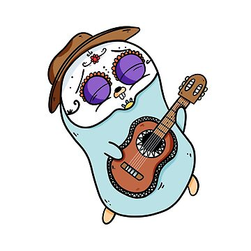 Gopher of the Day of the Dead - Golang by maestromakhan