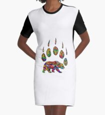 Grizzly Path Graphic T-Shirt Dress
