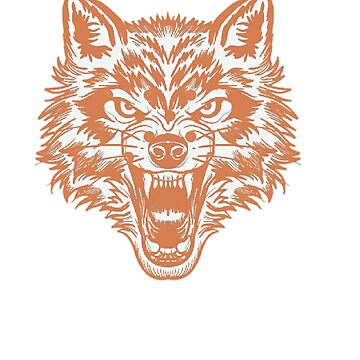 Wolf  men t-shirts  by ubnt