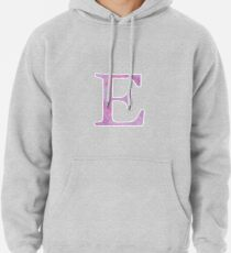 Lilac Watercolor Ε Pullover Hoodie