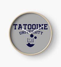 Tatooine University Clock