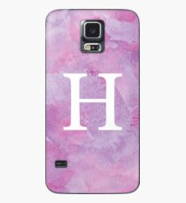 Lilac Watercolor Η Case/Skin for Samsung Galaxy