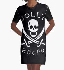 Jolly Roger Graphic T-Shirt Dress