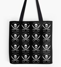 jolly roger pattern design Tote Bag
