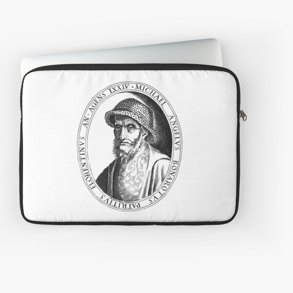 Michelangelo, Italian Renaissance Man Laptop Sleeve