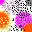 Modern Bold Bright Artsy Abstract Pattern by Artification