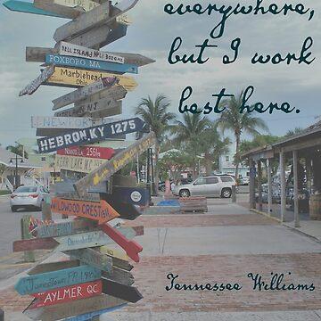 I work everywhere, but I work best here. by seacucumber