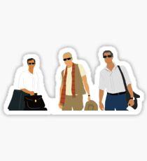 Mamma Mia Dads Sticker