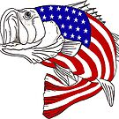 «American Large Mouth Bass» de Statepallets
