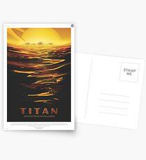 NASA Tourismus - Titan Postkarten